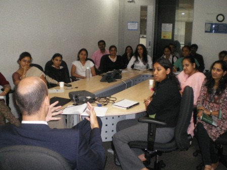 rountable talking with India Team