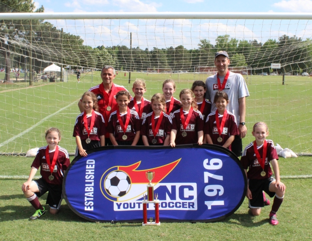 U10Girls CASL Dragonflies NC State Champs