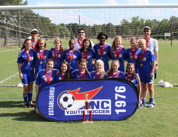 U14 Girls CASL Cyclones State Champs